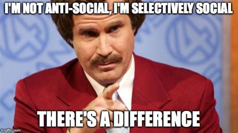 Social Meme - anchorman imgflip