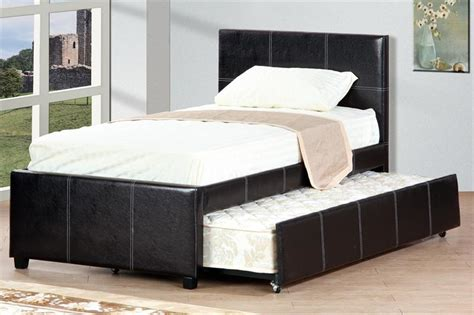 poundex bed bed with trundle f9214 poundex