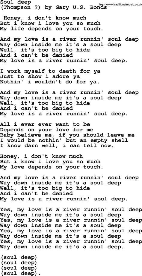 lyrics bruce springsteen bruce springsteen song soul lyrics