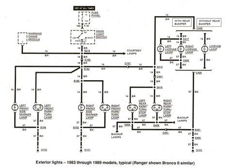 ford ranger wiring diagrams  ranger station