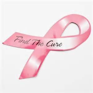 Pink Ribbon Giveaways - pink ribbon magnet