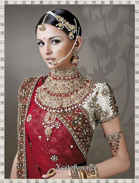 Indian Wedding Jewellery by Indian Bridal Jewelry And Makeup Xcitefun Net