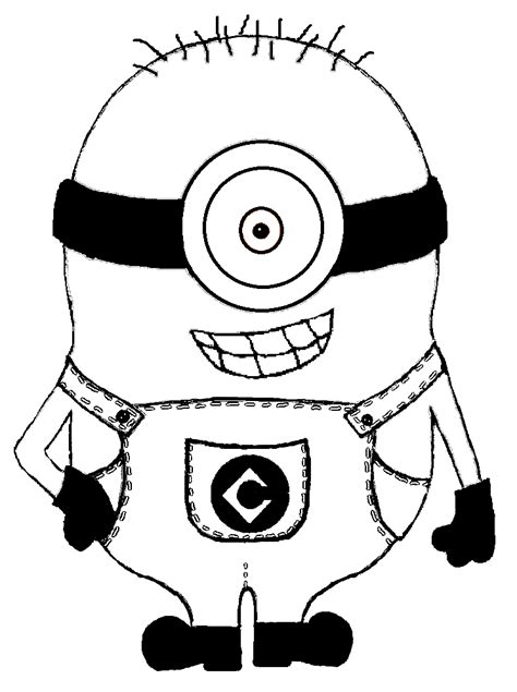 printable images minions free coloring pages of cub scout minion