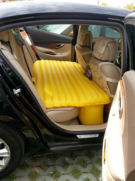 Sleeping In Your Car Illegal by Back Seat Mattress
