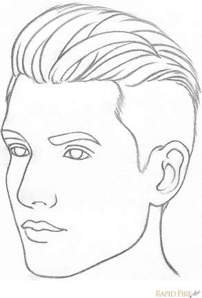 Drawing 3 4 Faces by How To Draw A From 3 4 View Rapidfireart