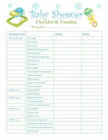 Com parenting slideshow 632 printable checklists baby shower checklist
