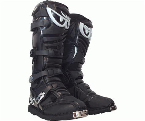 Berik Contender Motocross Boots Black