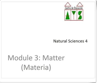 natural science 3 primaria 8416380163 recursos educativos de primaria unidad 6 de natural science de 4 186 de primaria quot matter and