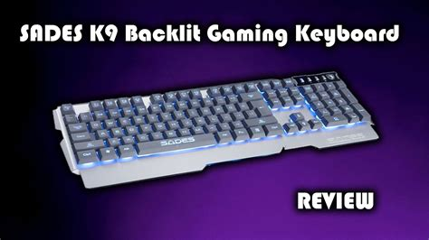 Laris Keyboard Rexus Gaming K9 sades k9 backlit gaming keyboard review