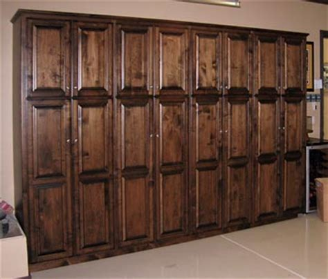 Wooden Cabinets For Garage by Garage Shelves Garage Cabinets And Garage Storage New