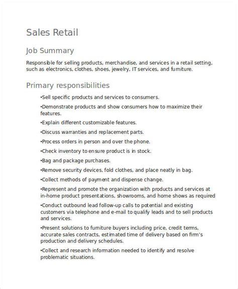 10 retail description templates pdf doc free