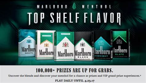 Marlboro Sweepstakes - marlboro sweepstakes freebiequeen13 contests and freebies