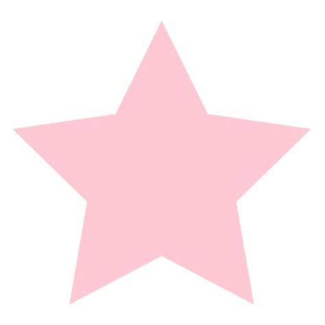 pink star stars clipart light pink pencil and in color stars