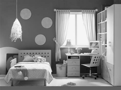 attractive Black And White Furniture Bedroom #2: bedroom-ideas-for-teenage-girls-black-and-white-zqlqffih0.jpg