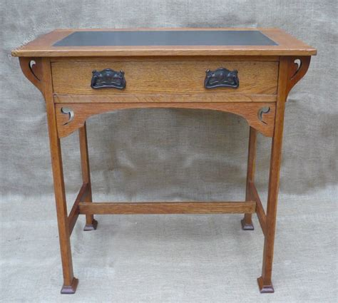 arts and crafts desk arts and crafts desk in golden oak antiques atlas