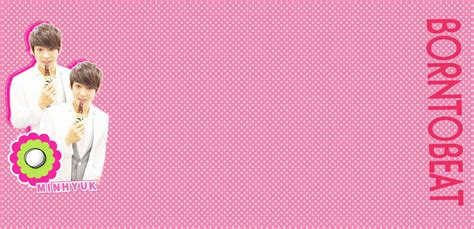 pink layout for twitter minhyuk twitter background pink by stopidd on deviantart
