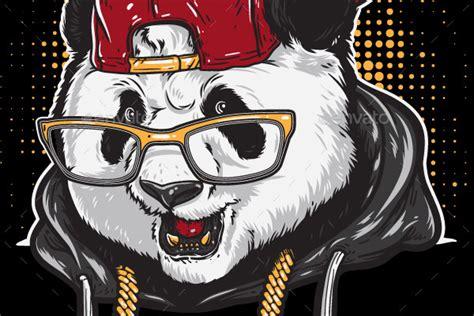 Electrika Panda 2 panda rocks by rautanstudio graphicriver