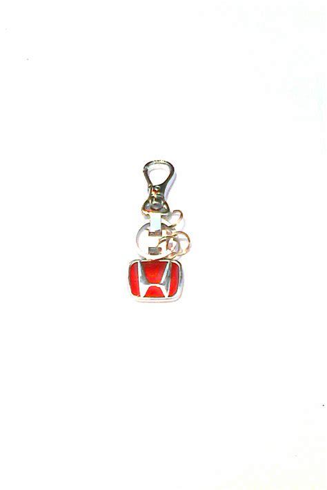 Mobil Gantungan Kunci Mobil Honda Logo Honda Keychain Mobil Honda jual gantungan kunci motif logo honda merah toko racing