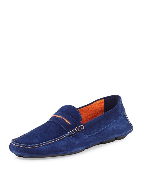 blue suede mens loafers mens blue suede loafers shoes 28 images cesare