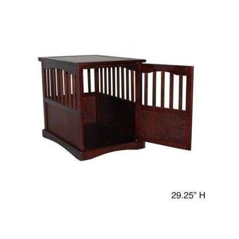 puppy crate in bedroom or not wooden dog kennel cage house end table bed indoor bedroom