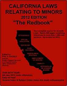 California Laws Minors California Laws Relating To Minors Kauble Phil D