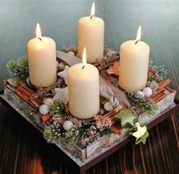 White Craft Room Furniture - creative christmas decoration diy advent wreath ideas