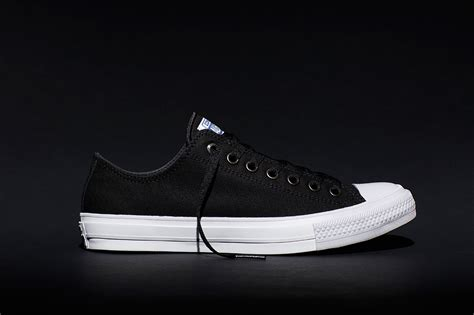 Chuck 2 Black Low converse unveils the chuck ii here s what it looks