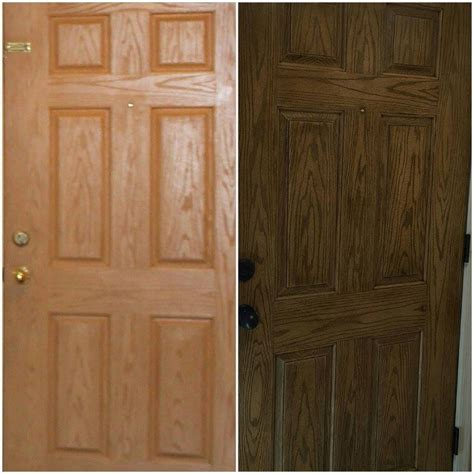 Exterior Door Finishes Fiberglass Door In Antique Walnut Gel Stain General Finishes Design Center