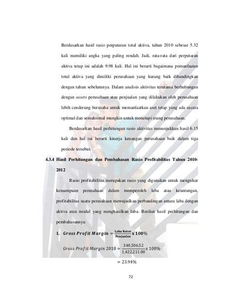 skripsi akuntansi rasio keuangan skripsi laporan keuangan untuk mengukur kinerja keuangan