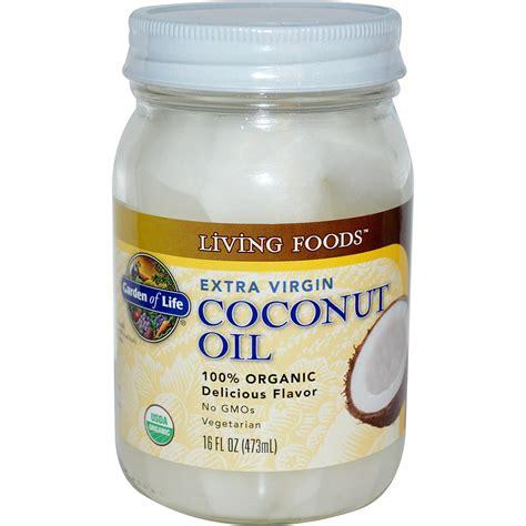 coconut oil garden of life extra virgin coconut oil 16 fl oz 473 ml