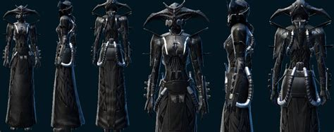 swtor sith inquisitor armor star wars the old republic mix it up with existing