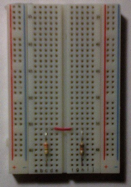 put the resistors the matrix effect with arduino and tv all