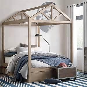 Loft Bed Frame Remodelaholic House Shaped Beds Galore