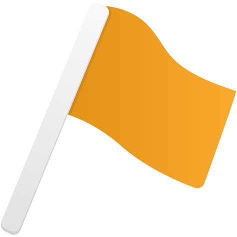 design icon orange flag1 orange icon flatastic 9 iconset custom icon design