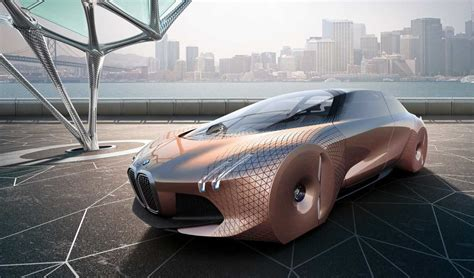 future bmw concept bmw envisions future with vision 100 concept