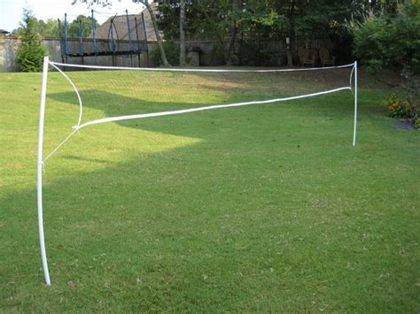 backyard volleyball wireless pvc badminton volleyball net guys volleyball