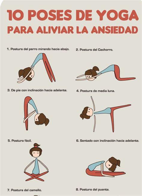 imagenes de yoga para el estres 10 poses de yoga para aliviar la ansiedad