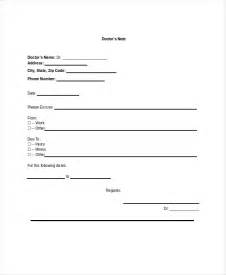 blank doctors note template doctors note template 11 free word pdf psd documents