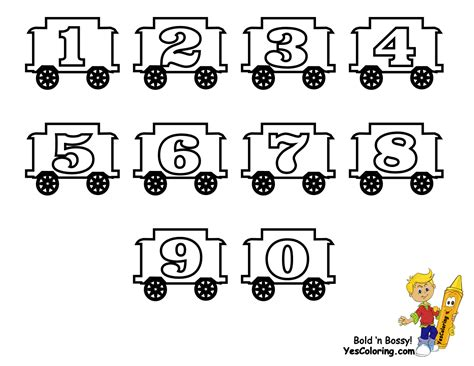 printable letters and numbers image gallery number train coloring page