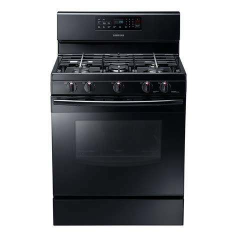 samsung nx58f5500sb freestanding gas range 5 8 cubic black appliances
