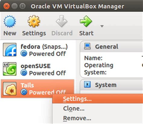 tutorial oracle vm virtualbox manager how to run tails linux inside virtualbox linuxbabe com