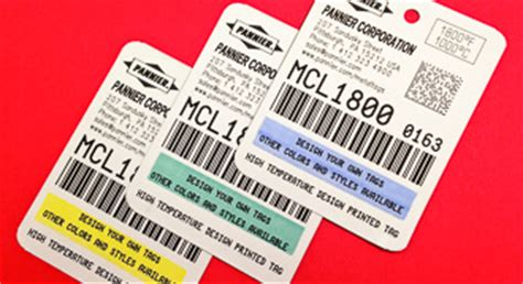 printable metal tags embossed metal tags for industrial product id and tracking