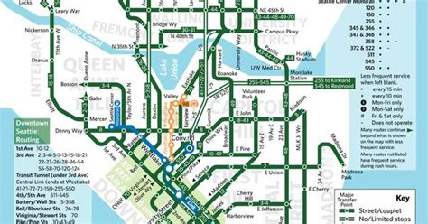 seattle map transportation everything you need to about seattle s