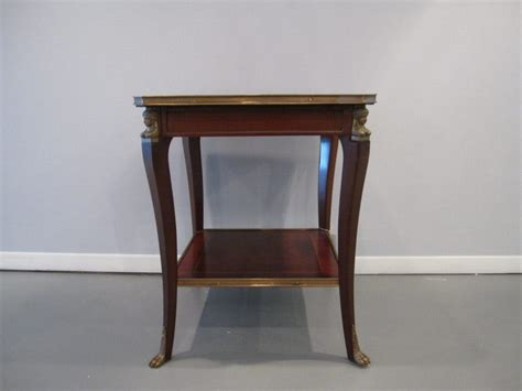 style side table empire style side table eisenhower consignment