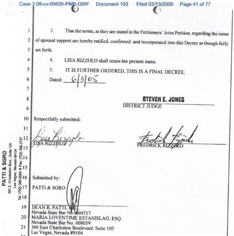 Divorce Records In Nevada Rick Porrello S Americanmafia Steve Miller