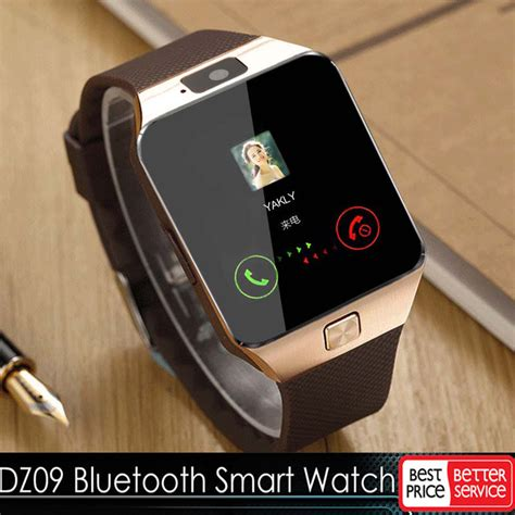how to bluetooth from android to iphone gold dz09 bluetooth smart gsm sim for iphone samsung lg android phone mate ebay