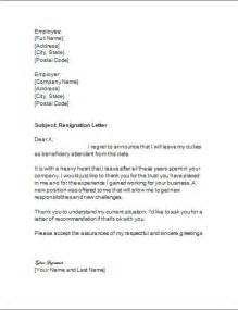 Resign Letter Title by Resignation Letter Format Resign Ideas Thank You Resignation Letter Sle Modern