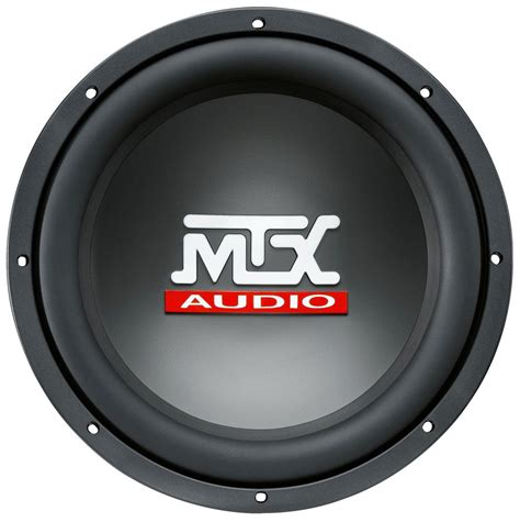 Speaker Subwoofer Acoustic 12 Inch rts12 04 roadthunder 12 quot 250 watt rms car audio subwoofer mtx audio serious about sound 174