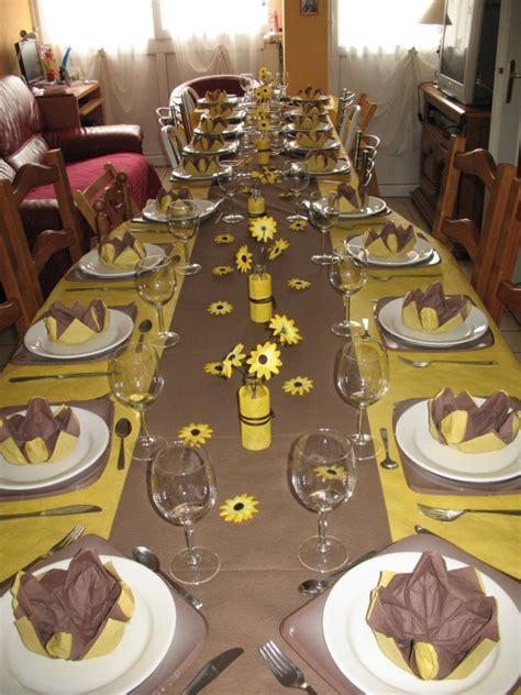 d 233 coration de table pour anniversaire 50 ans