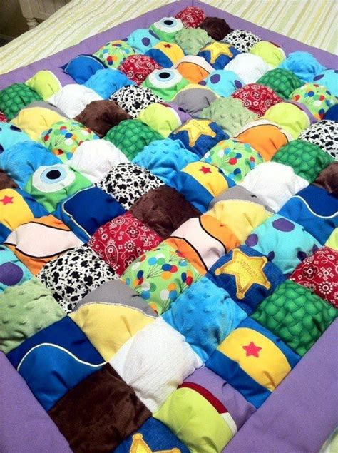 Monsters Inc Quilt by Puff Quilt Monsters Inc And Story On